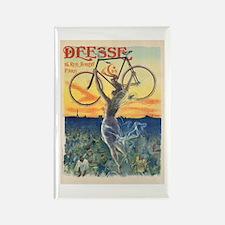 Paris Bike Rectangle Magnet