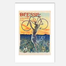 Paris Bike Postcards (Package of 8)