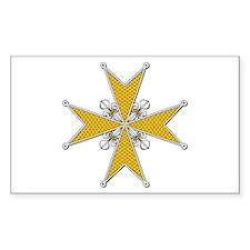 Order of St. Stephen (Tuscany Sticker (Rectangular