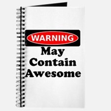 Warning May Contain Awesome Journal