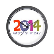 2014 Year of the Nurse Wall Clock