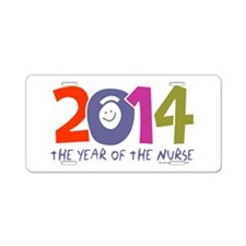2014 Year of the Nurse Aluminum License Plate