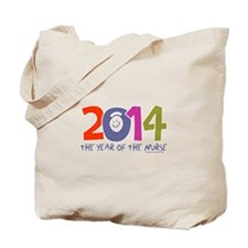 2014 Year of the Nurse Tote Bag