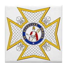 Order of St. Januarius Tile Coaster