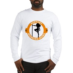 Support Working Moms Long Sleeve T-Shirt