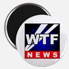 """WTF News 2.25"""" Magnet (100 pack)"""