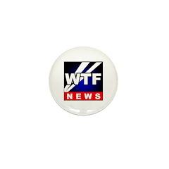 WTF News Mini Button (10 pack)