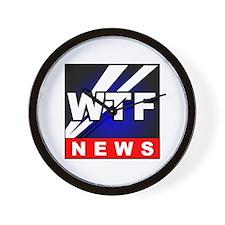 WTF News Wall Clock
