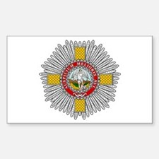 Order of St. Michael (England Sticker (Rectangular