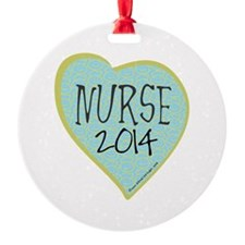 Nurse Graduate 2014 Ornament