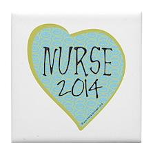 Nurse Graduate 2014 Tile Coaster