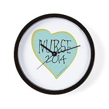 Nurse Graduate 2014 Wall Clock