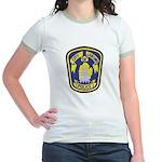 Lansing Police Jr. Ringer T-Shirt