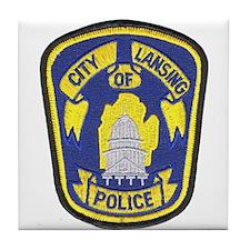 Lansing Police Tile Coaster