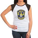 Lansing Police Women's Cap Sleeve T-Shirt