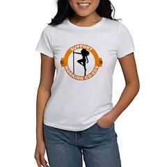 Support Working Co-Eds Women's T-Shirt