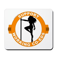Support Working Co-Eds Mousepad