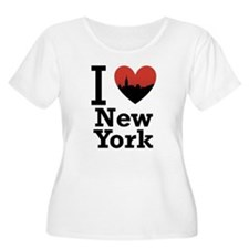 I love New York Plus Size T-Shirt