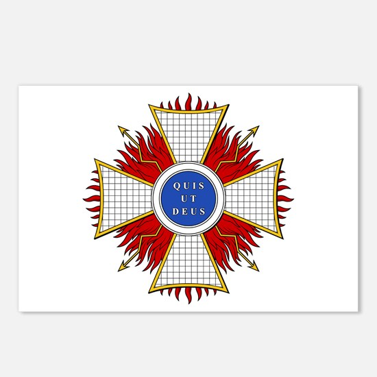 Order of St. Michael (Bavaria Postcards (Package o