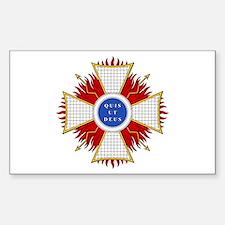 Order of St. Michael (Bavaria Sticker (Rectangular
