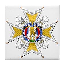 Order of St. Louis (France) Tile Coaster