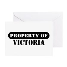 Property of Victoria Greeting Cards (Pk of 10)