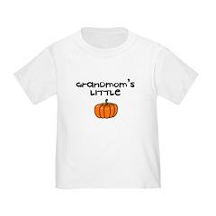 Grandmom's Little Pumpkin Toddler Tee