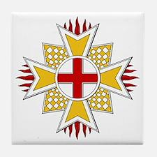 Order of St. George (Bavaria) Tile Coaster