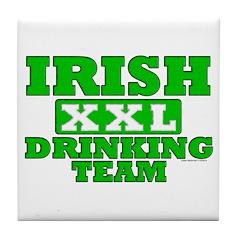 Irish Drinking Team XXL Tile Coaster