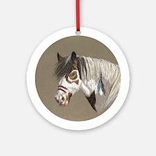 War Pony Ornament (Round)
