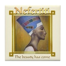 Nefertiti Tile Coaster