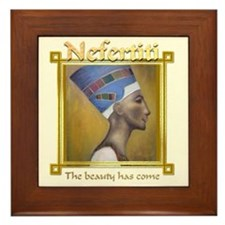 Nefertiti Framed Tile
