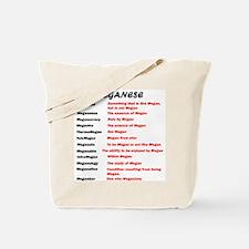Meganese Tote Bag