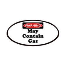 Warning May Contain Gas Patches