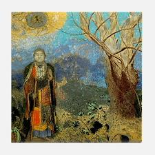 The Buddah by Redon Ceramic Art Tile Coaster