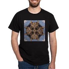 Cross Fox Mandala T-Shirt