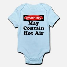 Warning May Contain Hot Air Body Suit