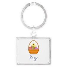 Easter Basket Kaye Keychains