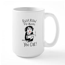 Borrow Books Mug