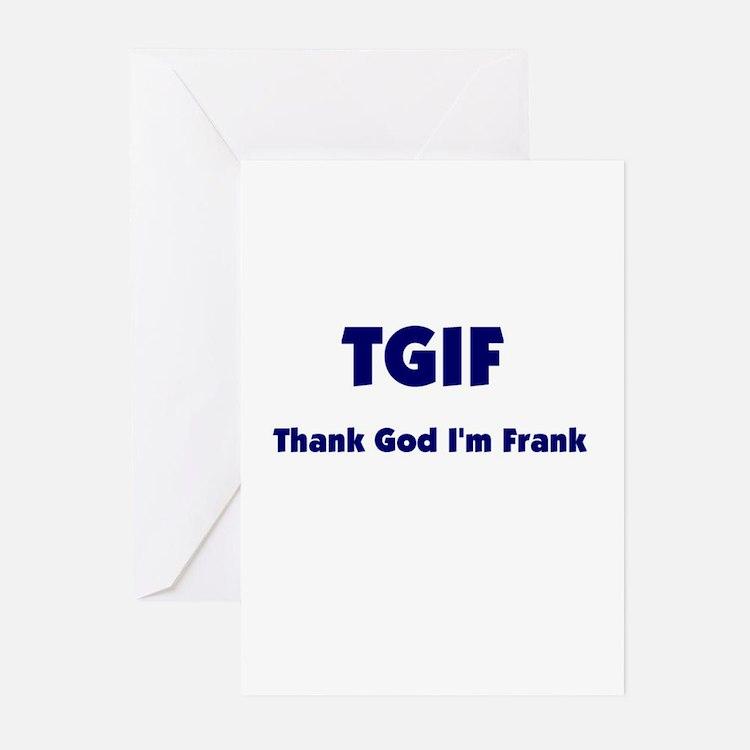 TGIF2 Greeting Cards (Pk of 10)