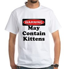 Warning May Contain Kittens T-Shirt