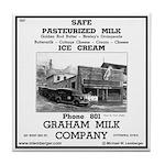 Graham Milk Company Tile Coaster