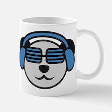 music_panda_head Mug