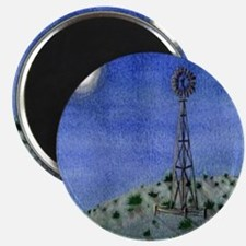 "Oklahoma Windmill 2.25"" Magnet (100 pack)"