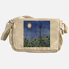 Oklahoma Windmill Messenger Bag