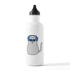 music_cat Water Bottle