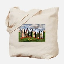 Dayton Ohio Greetings Tote Bag