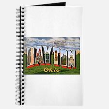 Dayton Ohio Greetings Journal