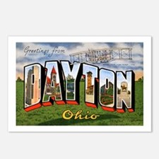 Dayton Ohio Greetings Postcards (Package of 8)