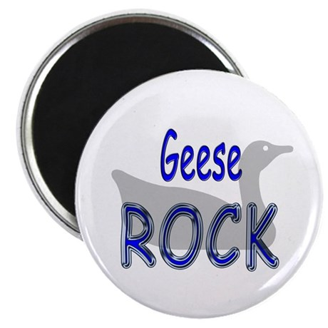Geese Rock Magnet
